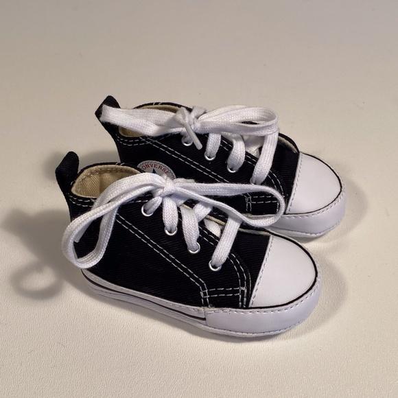 Converse Shoes | All Star Black Crib